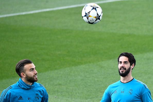 Nacho e Isco estão à disposição de Zidane (Foto: AFP GABRIEL BOUYS/ Getty Images)
