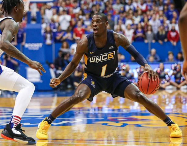 Miller will look to help UNCG to their second NCAA berth in the last four years/Photo: Jay Biggerstaff/USA Today Sports