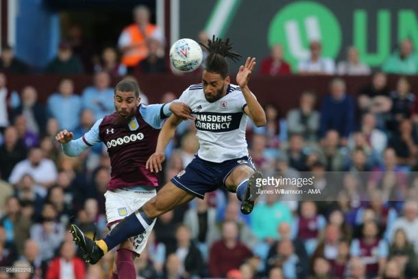 Aston Villa (1) 0-0 (0) Middlesbrough. (picture: Getty Images / Clive Mason)