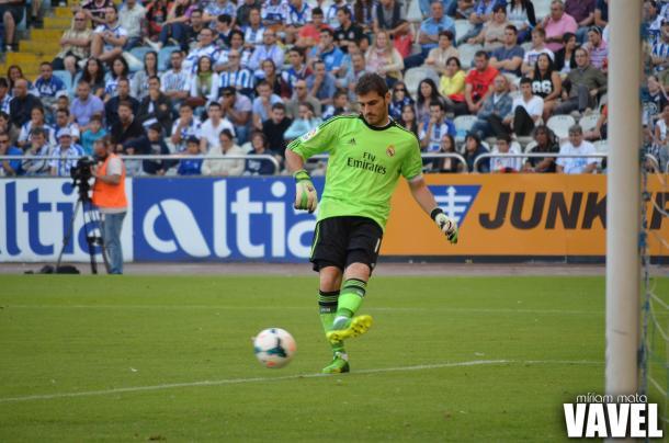 Iker Casillas durante un partido con el Real Madrid | Foto: Miriam Mata (VAVEL España)