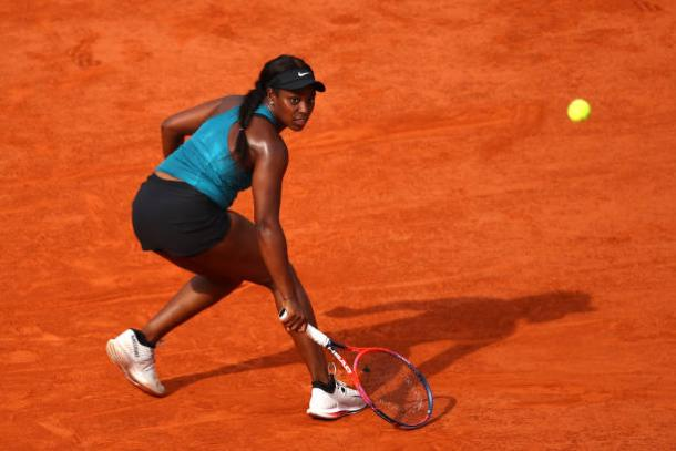 Stephens will be bidding for her second Grand Slam title on Saturday (Getty/Cameron Spencer)