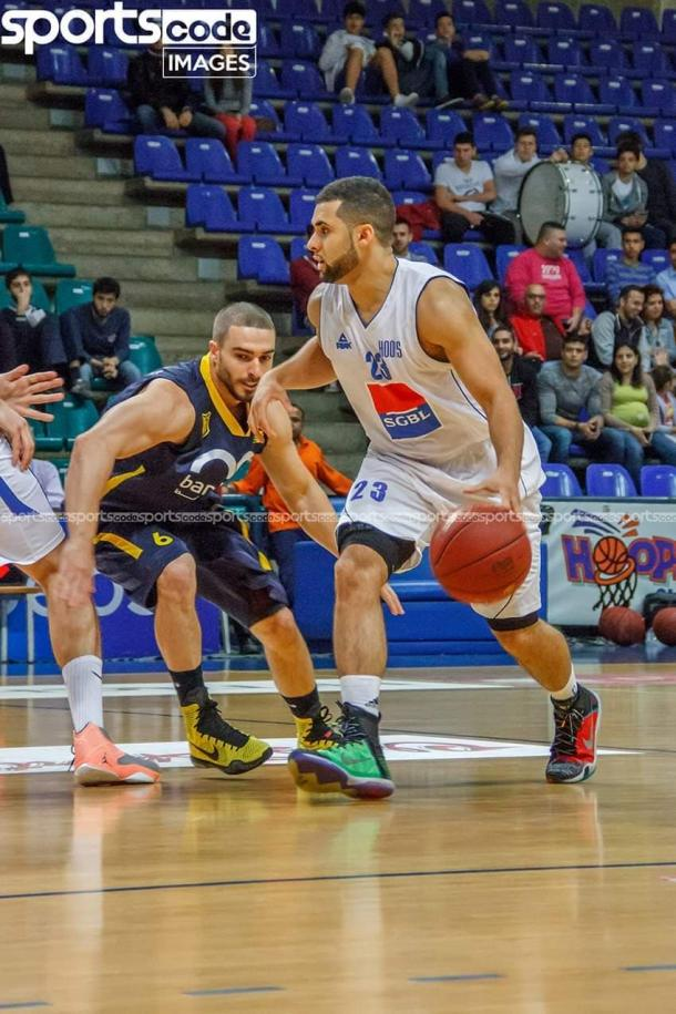 Abiad played overseas in Lebanon where his father is from (SportsCode Images)