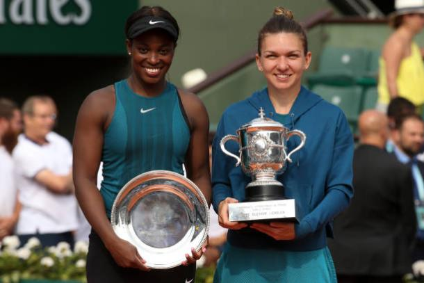Sloane Stephens and Simona Halep will once again be in contention for a Slam title (Getty/Jean Catuffe)