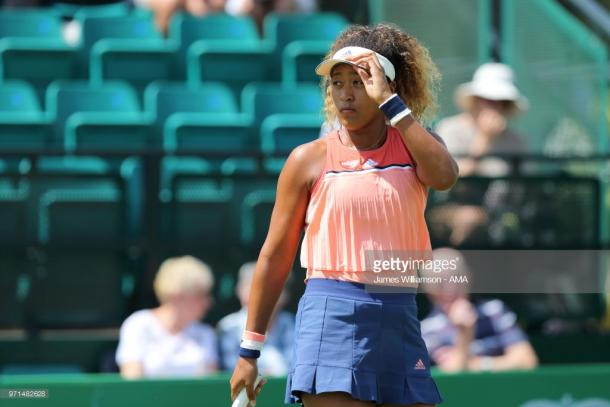 Osaka dominated the second set to get back on level terms. (picture: Getty Images / James Williamson - AMA)