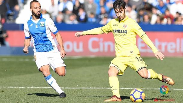 Trigueros ante El Zhar en Butarque | Villarreal CF