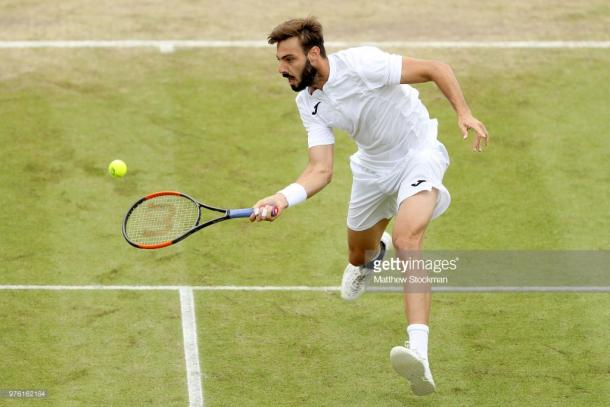 Granollers made a fast start to the match. (picture: Getty Images / Matthew Stockman)
