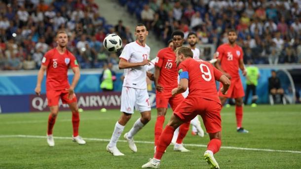 Kane marca el gol de la victoria   Foto: Getty Images.