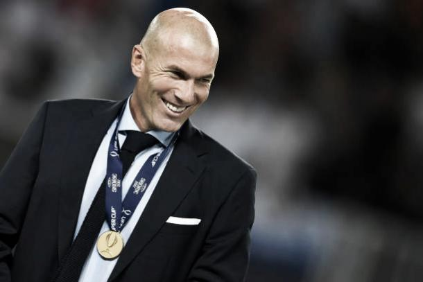 Zidane conquistou 6 dos 8 títulos que disputou como técnico da equipe principal do Real Madrid (Foto: Reprodução/Getty Imagens)