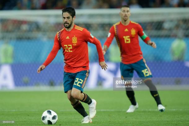 Isco has impressed for Spain so far in this tournament. (picture: Getty Images / Soccrates Images)
