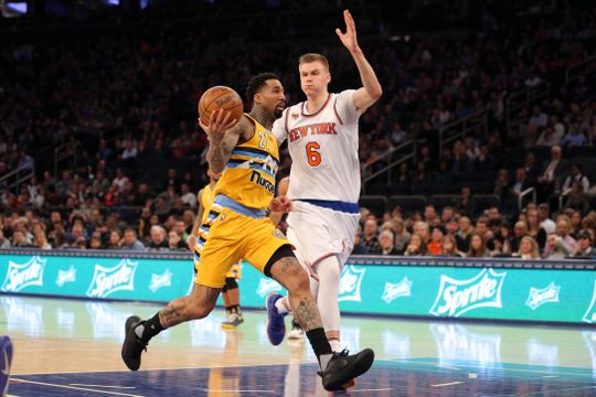 Former Knicks forward Wilson Chandler was on fire at the Madison Square Garden. Photo: Brad Penner-USA TODAY Sports