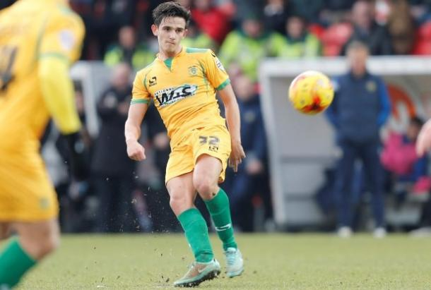 Shephard is yet to make his second debut for Yeovil after rejoining. (Photo: Western Gazette)