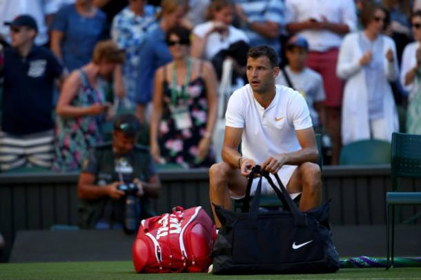 Grigor Dimitrov fell to another poor loss in the opening round (Getty/Clive Brunskill)