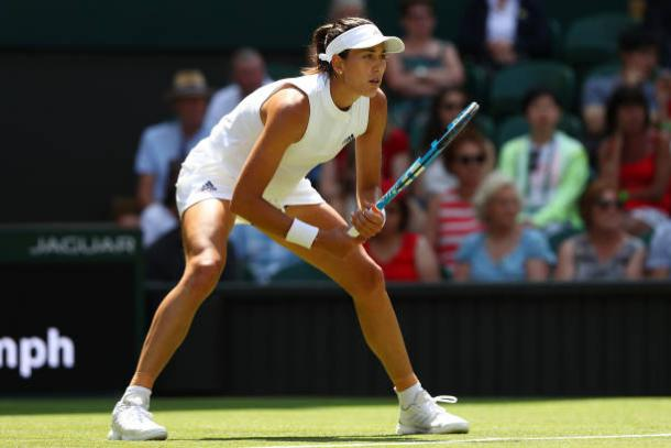 Muguruza will be aiming to win her second title of 2018 in Stanford (Getty/Matthew Stockman)