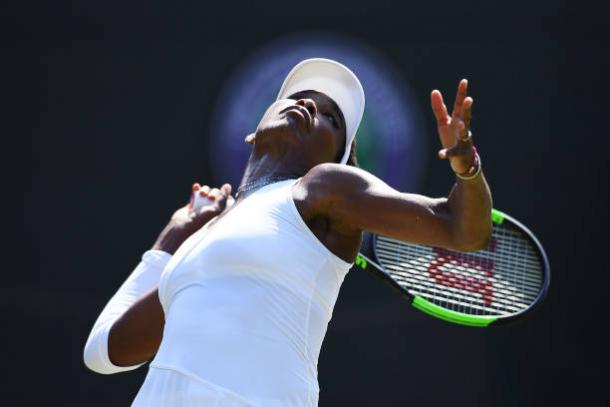 Williams is one of the best servers in the history of the sport (Getty/Clive Mason)