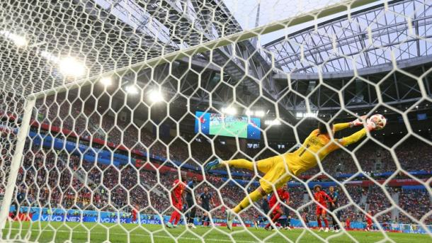 Hugo Lloris put on a star performance today | Source: Getty Images via FIFA.com