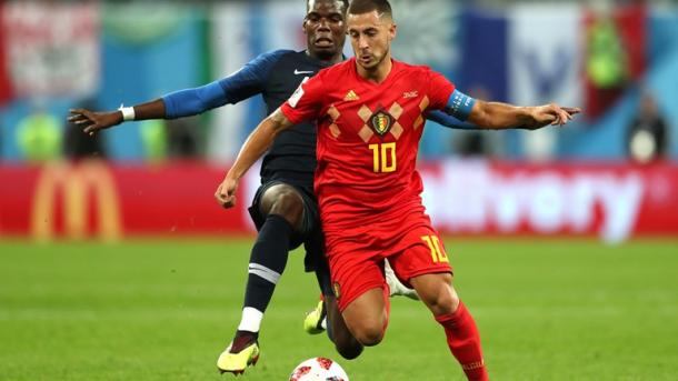Eden Hazard started off the game brightly | Source: Getty Images via FIFA.com