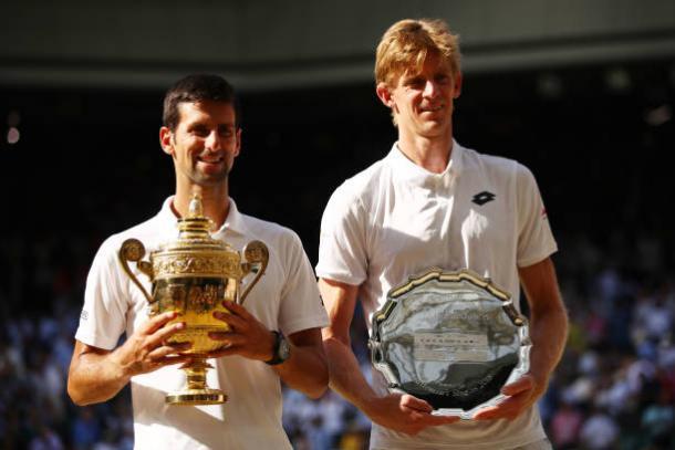 Novak Djokovic beat Kevin Anderson to win a fourth Wimbledon title (Getty/Clive Brunskill)