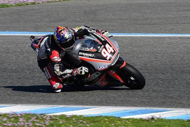 Dynavolt Intact GP rider Jonas Folger - www.speedweek.com