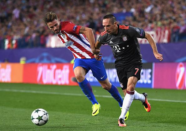 Ribery e cia até tentaram, mas a vitória ficou com os colchoneros (Foto: David Ramos/Getty Images)