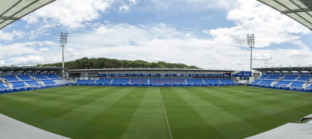 Estadio el Alcoraz. Foto: www.sdhuesca.es