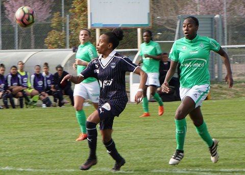 Emelyne Laurent is an exciting prospect in French football | Source: girondins33.com