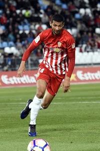 Joaquín en un partido esta temporada   Fuente: pesstatsdatabase.com