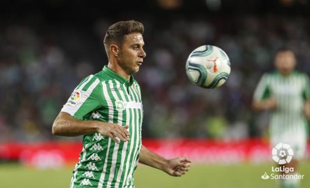 Joaquín jugando con el Real Betis Balompié | Foto: LaLiga