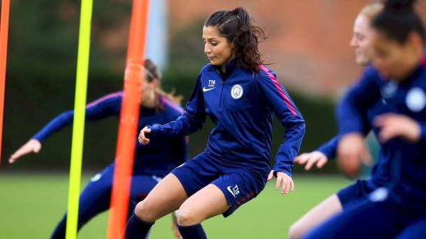 Nadia Nadim looks to make her mark on her return | Source: mancity.com