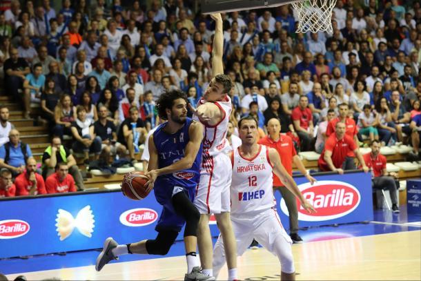Michele Vitali Nazionale Italiana Maschile Senior -  2019 FIBA World Cup Qualifiers Italia Croazia Italy Croatia FIP 2018 Trieste, 28/06/2018 Foto Ciamillo-Castoria