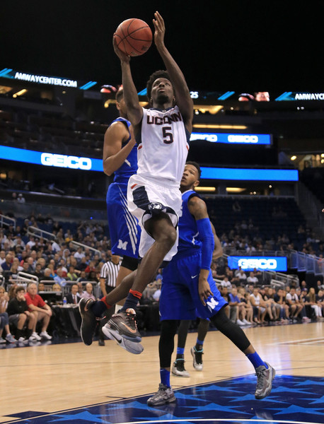 Daniel Hamilton stepped up for UConn in the win (Photo: Mike Ehrmann/Getty Images).