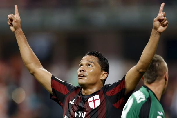 Bacca and his trademark celebration | Photo: gazzettaworld.com