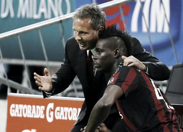 Mario Baloteli needs to do Extremely well to be in Milan's Squad next season