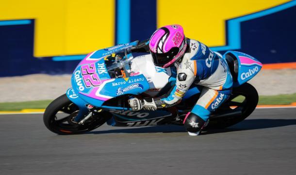 Ana Carrasco en su primera temporada en Moto3. Foto: anacarrasco.es