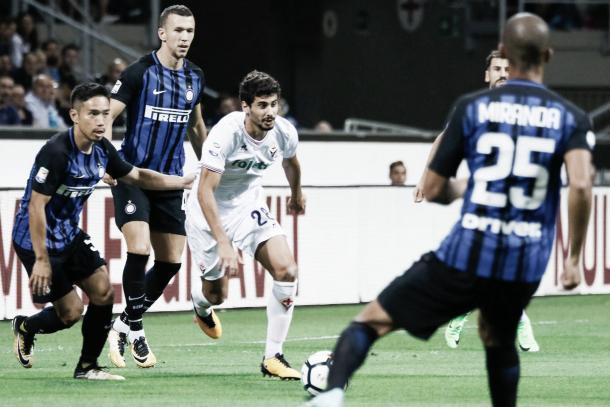 Fiorentina comenzó la Serie A con una caída 0-3 ante el Inter | Foto: ACF Fiorentina