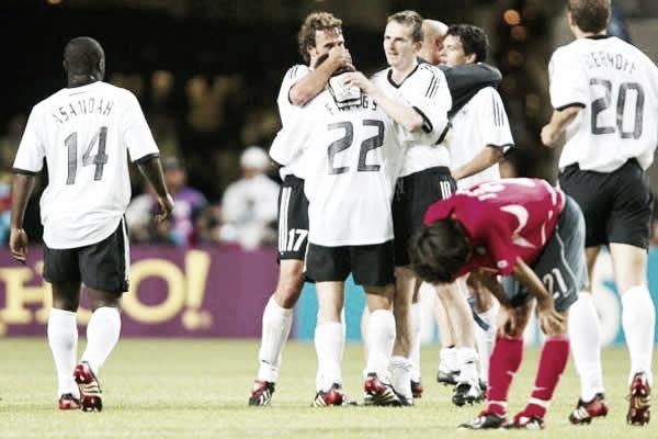 Corea eliminada por Alemania. Foto: Reuters