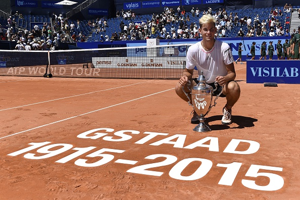 Thiem won the 100th edition of Gstaad (Getty/AFP/Alain Grosclaude)