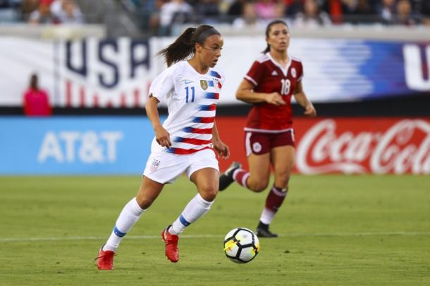 Mallory Pugh was in good form against Mexico | Source: Logan Bowles-Getty Images