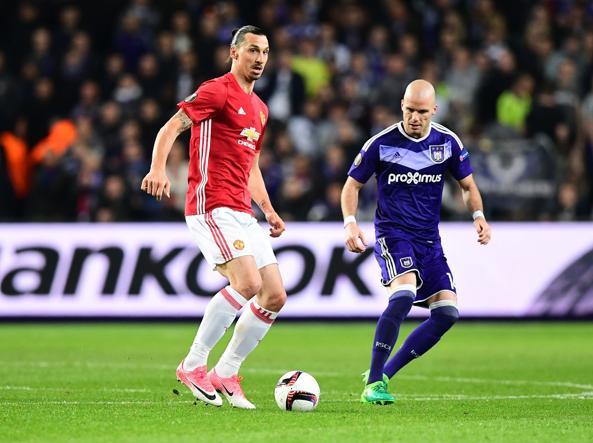 Europa League: Manchester United - Anderlecht, le formazioni ufficiali