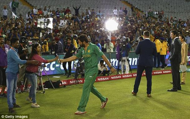 Afridi will consider his international future after the tournament (photo: Getty Images)