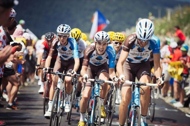 El equipo AG2R está ofreciendo espectáculo en el Tour. | Foto: TDF