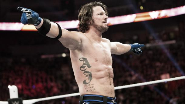 Styles has excelled in WWE. Photo- WWE.com