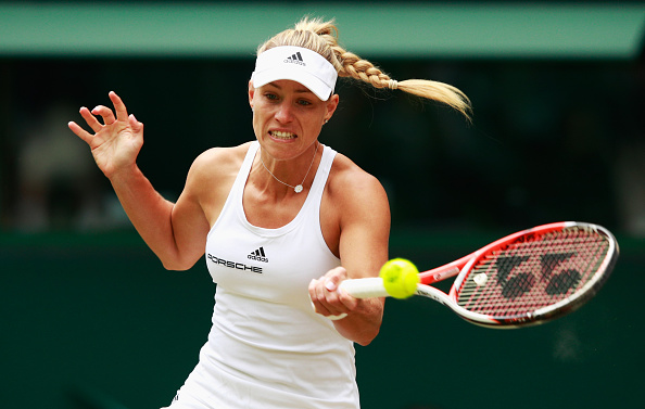Kerber in action. | Image credit: Adam Pretty/Getty Images