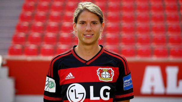 Krahn arrive from Bayern last season and played 19 games in the Frauen Bundesliga. (Photo: dfb.de)