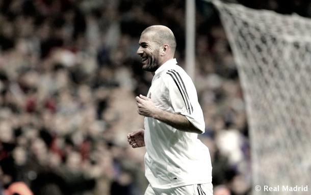 El francés sabe de festejos y va en busca de otro como DT | Foto: Real Madrid C.F.