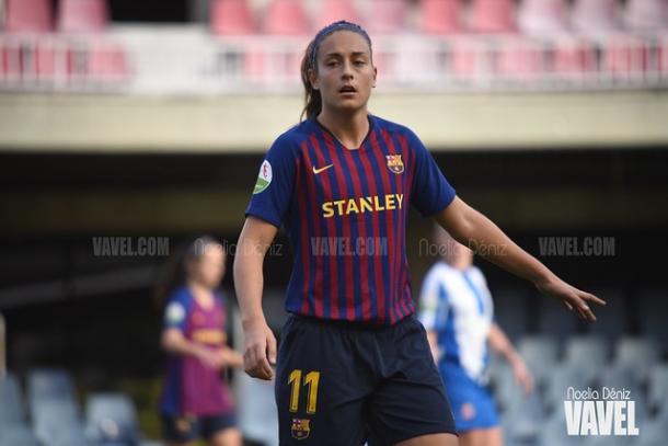 Alexia Putellas, jugadora del FC Barcelona. FOTO: Noelia Déniz