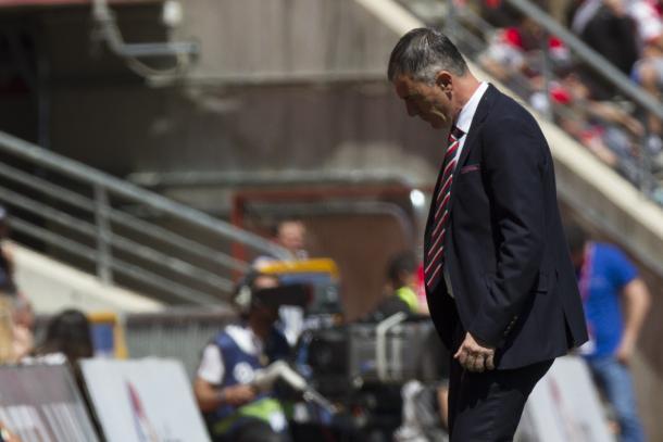Alcaraz fue destituido tras perder contra el Valencia | Foto: AL Juárez
