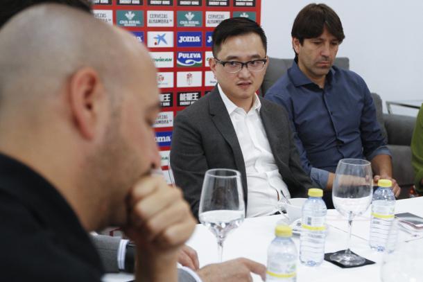 John Jiang junto a David Belenguer | Foto: Antonio L. Juárez