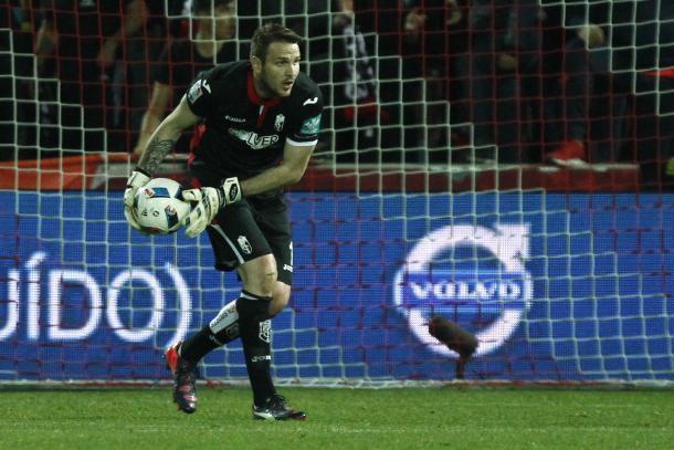 Kelava ha jugado solo en Copa del Rey   Foto: Antonio L. Juárez