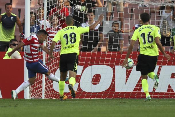 Gol de Joselu | Foto: Antonio L. Juárez