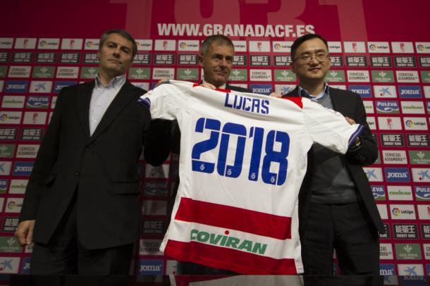 Lucas Alcaraz fue renovado hasta 2018 | Foto: AL Juárez